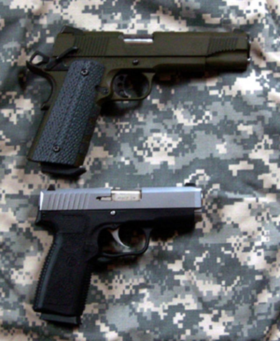 Kahr CW4543  45ACP Pistol