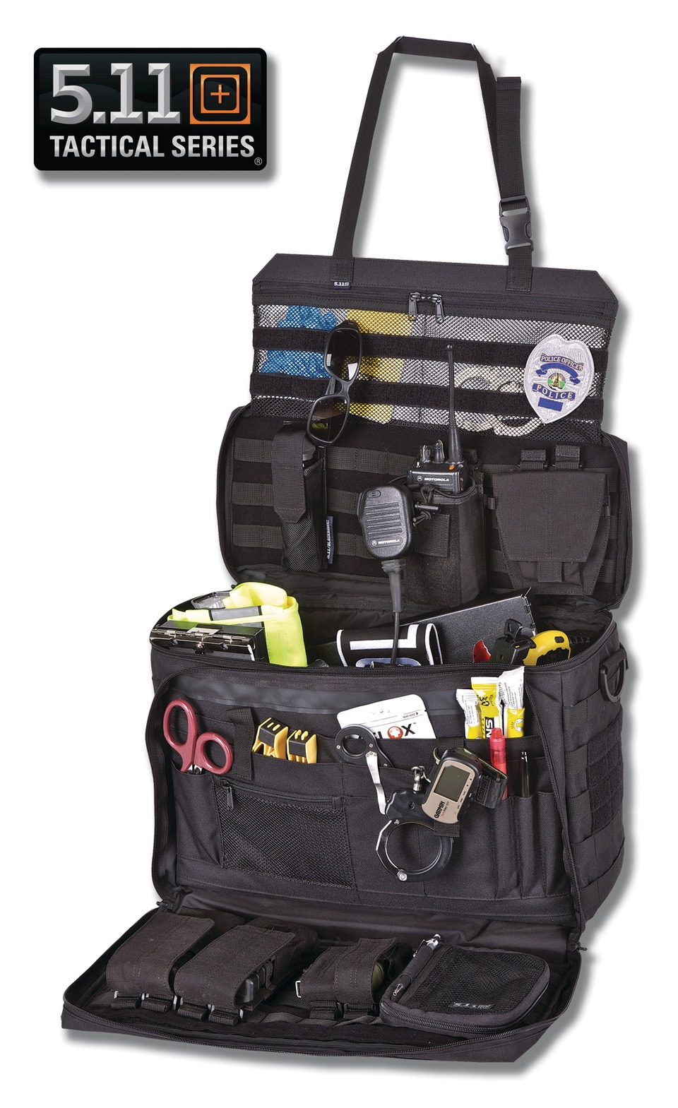 5 11 Tactical Police Gear Law Enforcement Equipment And Supplies Wingman Patrol Bag In Vehicles