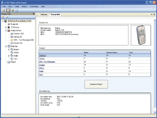 Cellebrite - Digital Intelligence Data Forensics for