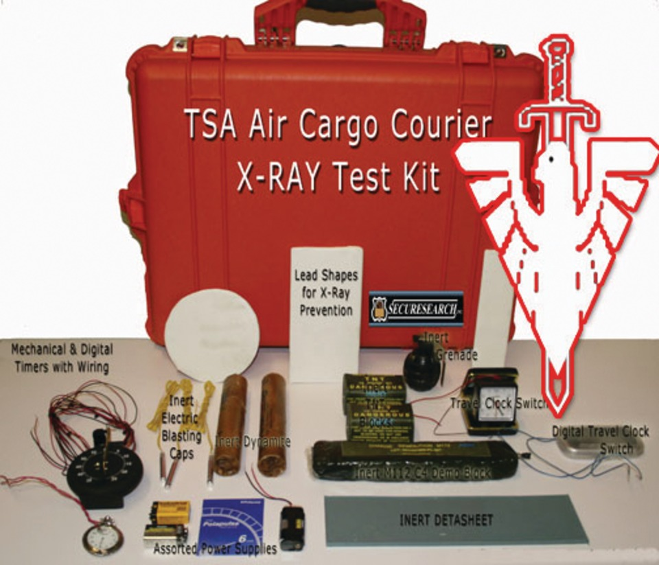 Applied tactical technologies inc tsa ied x ray training test as per the tsas certified cargo screening program indirect air carriers iacs must have in house ied test samples to be certified under the program xflitez Images
