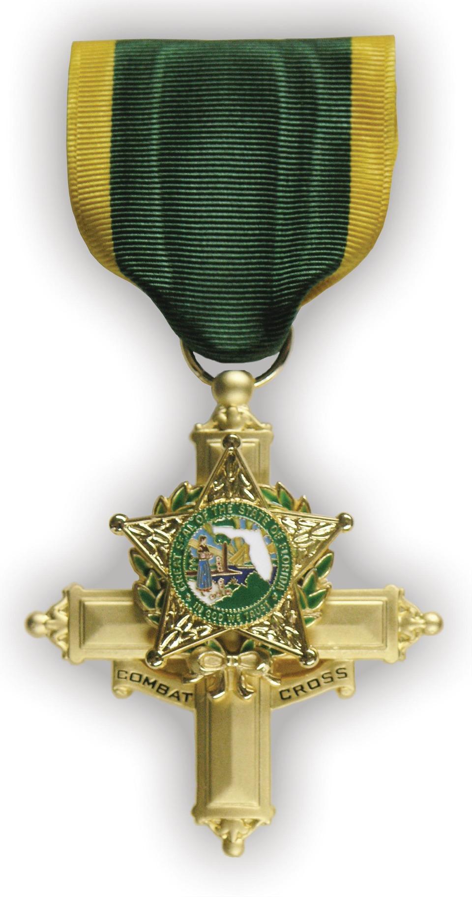 Northwest Territorial Mint LLC Police Combat Cross Medal in