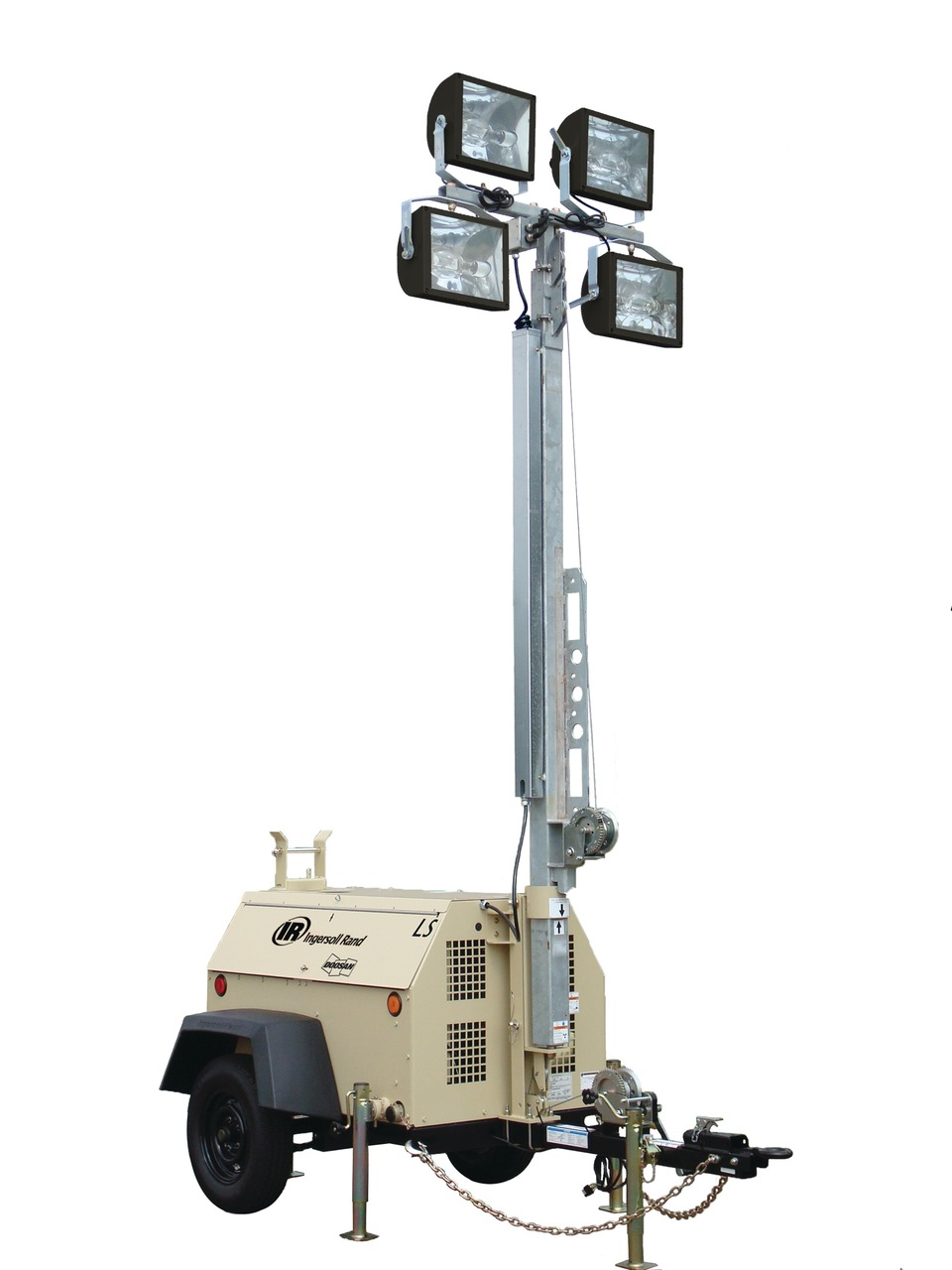DOOSAN PORTABLE POWER Ingersoll Rand LightSource (LS) light tower in Large  Area Lighting