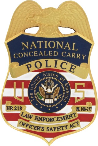 Maxsell Corp Conceal Carry Badge Hr 218 Badge In Apparel