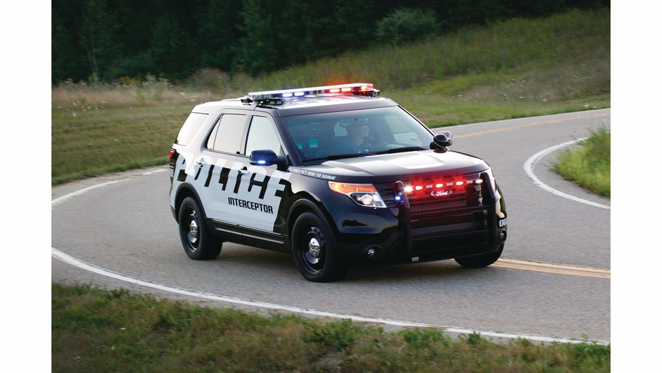 Ford Motor Co Police Interceptor Utility 2017 In