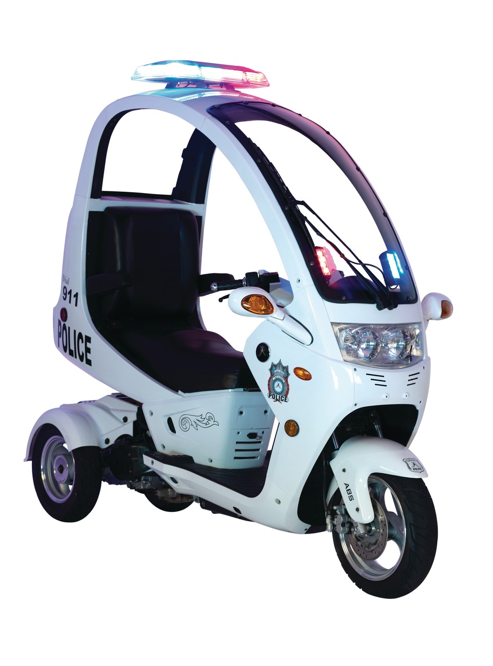 The Auto Moto Police Interceptor Scooter In Vehicles