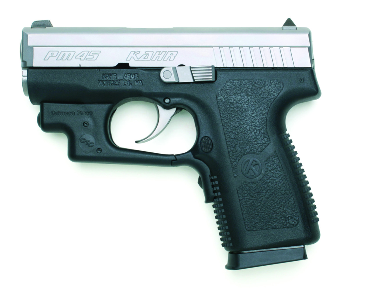 Kahr Firearms Group Models with Crimson Trace Laserguard in