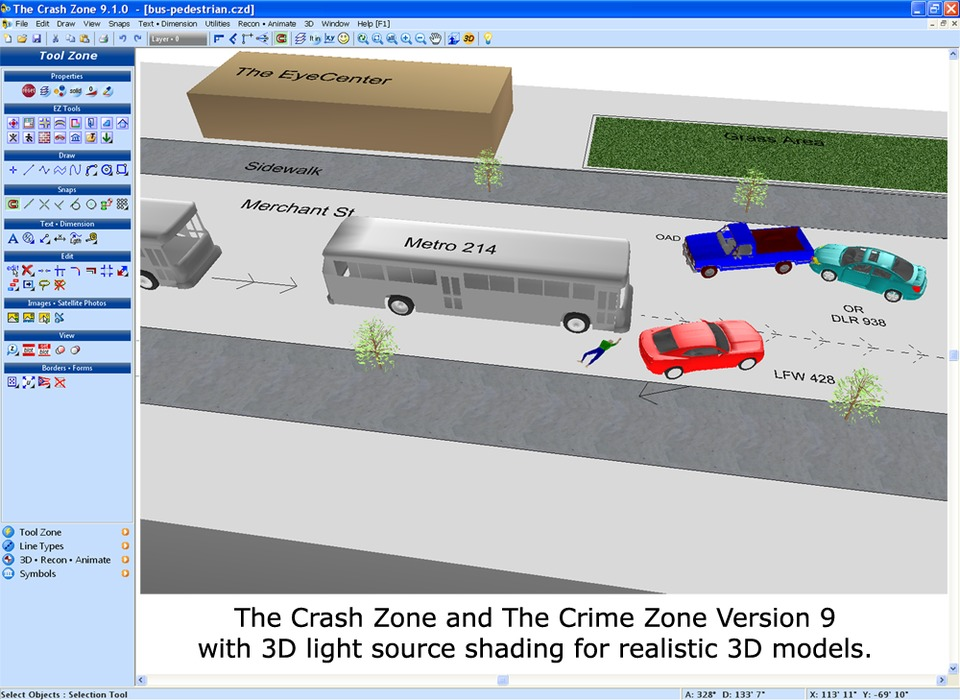 The CAD Zone Inc. Crime Zone and Crash Zone V. 9 in Computers & Software