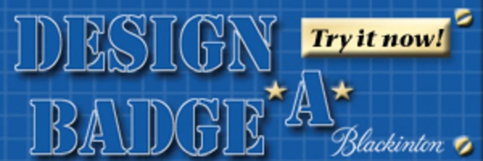VH Blackinton and Co Inc DesignaBadge in Badges Insignia