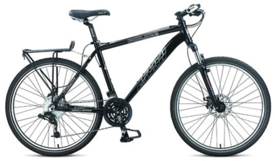 LEONARD CONSULTING GROUP Fuji Police Bikes in Bicycles