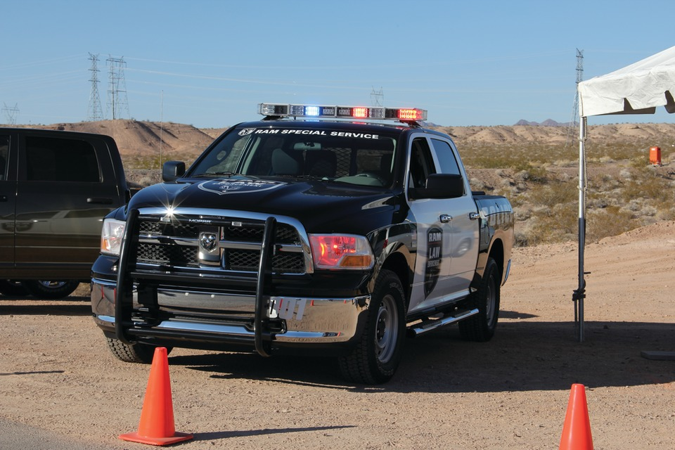 New Ram 1500 Crew Cab 4x4 Special Service Package Offers Equipment To Support Police And Other Emergency Services
