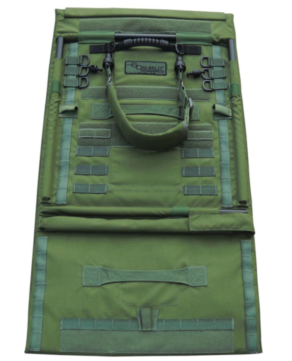 Blank military shield