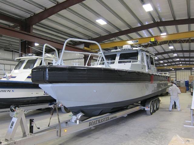 METAL SHARK ALUMINUM BOATS LLC CBRN-ready 35 Defiant Boat in