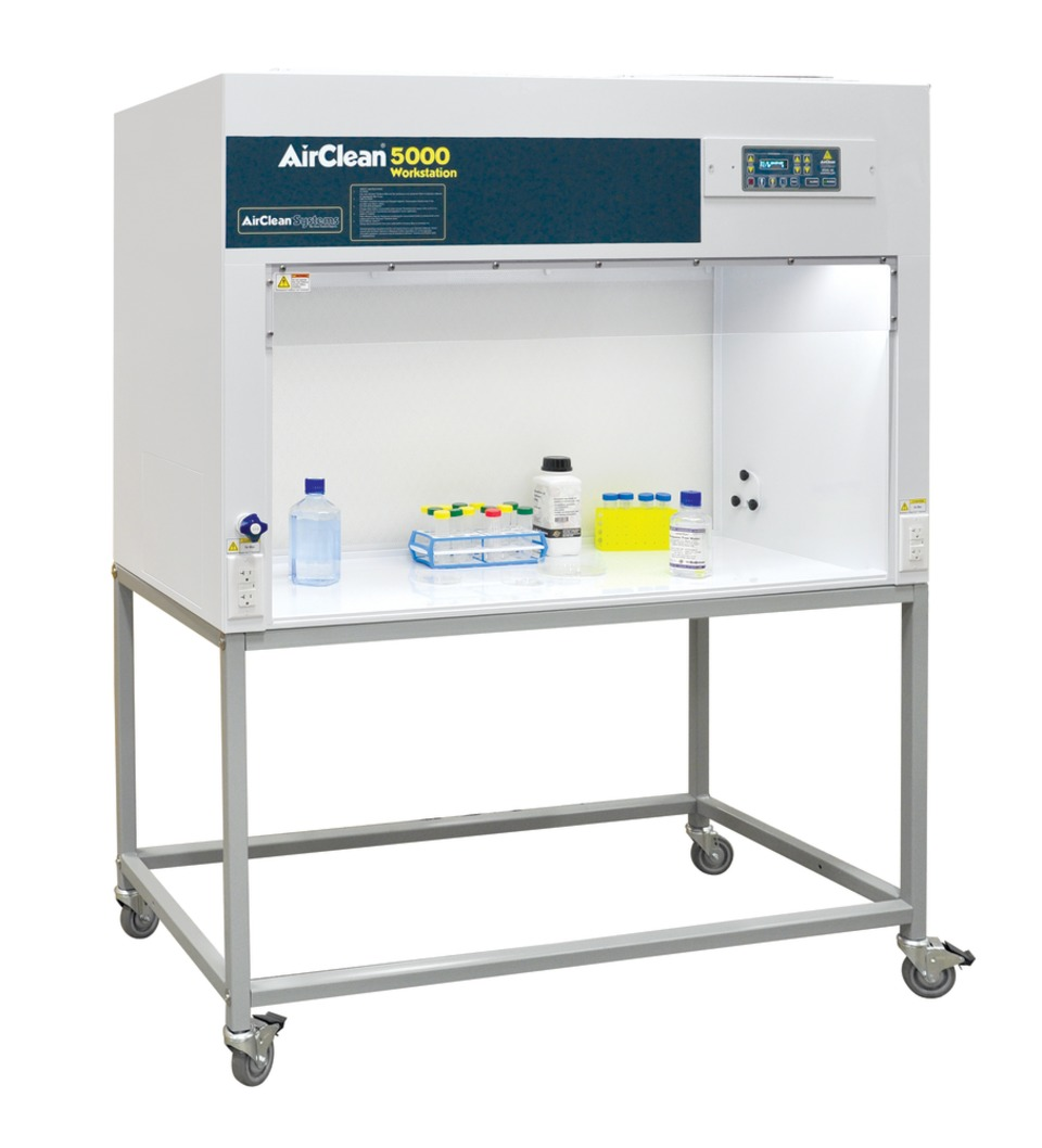 Airclean Systems Ac4000 Series Laminar Flow Clean Benches In Forensics