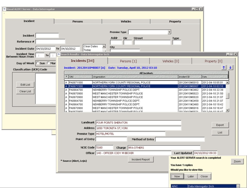 METRO TECHNOLOGY SERVICES INC  Visual Alert - Automated Law