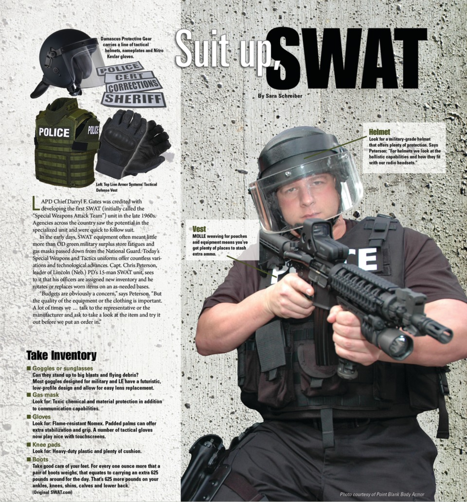 suit up swat