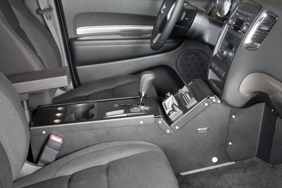 Gamber Johnson Llc Dodge Durango Ssv Console Box In