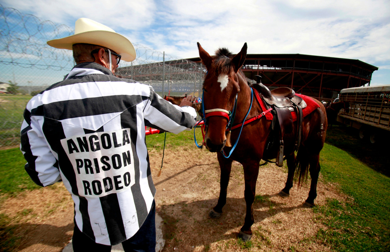 Louisiana State Penitentiary Prison Rodeo Offers Hope Where It Is