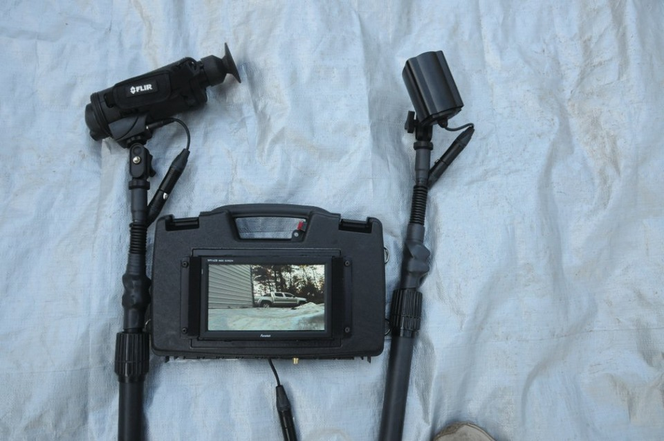 Tacview Inc Telescopic Pole Camera Now With Flir Thermal