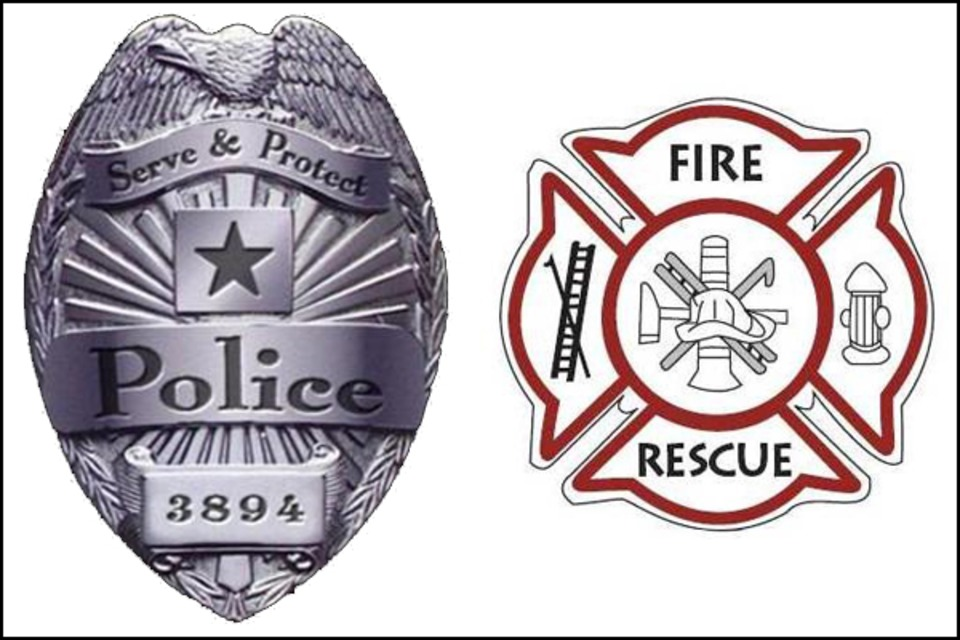 Image result for police and firefighter