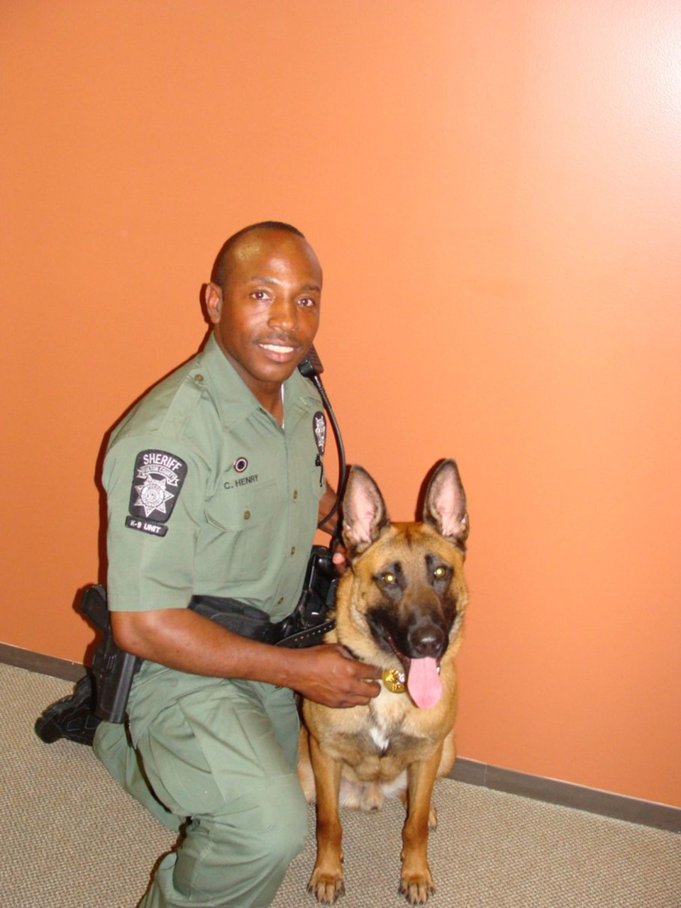 Ga  Sheriff's Office Mourning Death of K-9 From Cancer