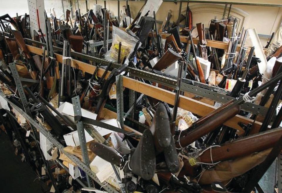 Gunbusters Llc Gunbusters Firearms Pulverizer System In