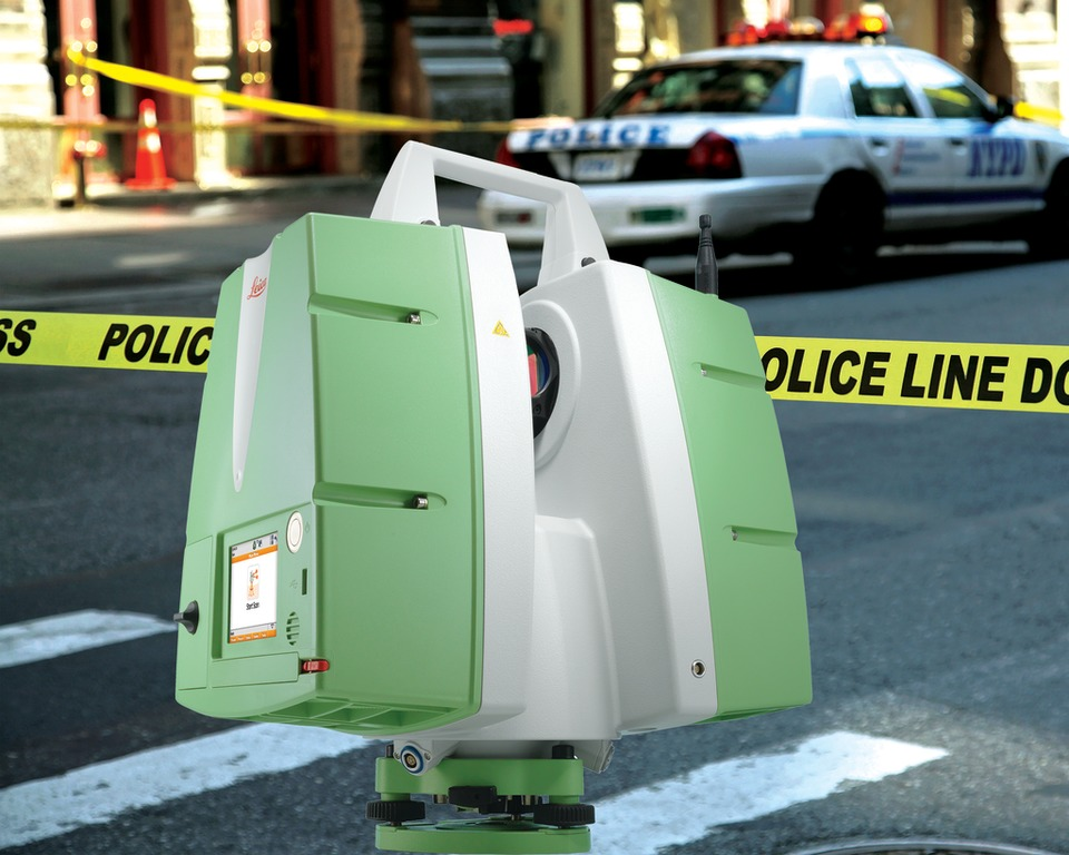 Leica Geosystems ScanStation PS15 3D Laser Crime Scene and Crash ...