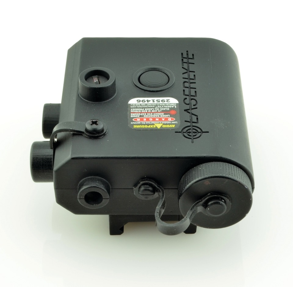 Laserlyte Center Mass Green Laser Sight: LASERLYTE Kryptonyte Center Mass Laser System