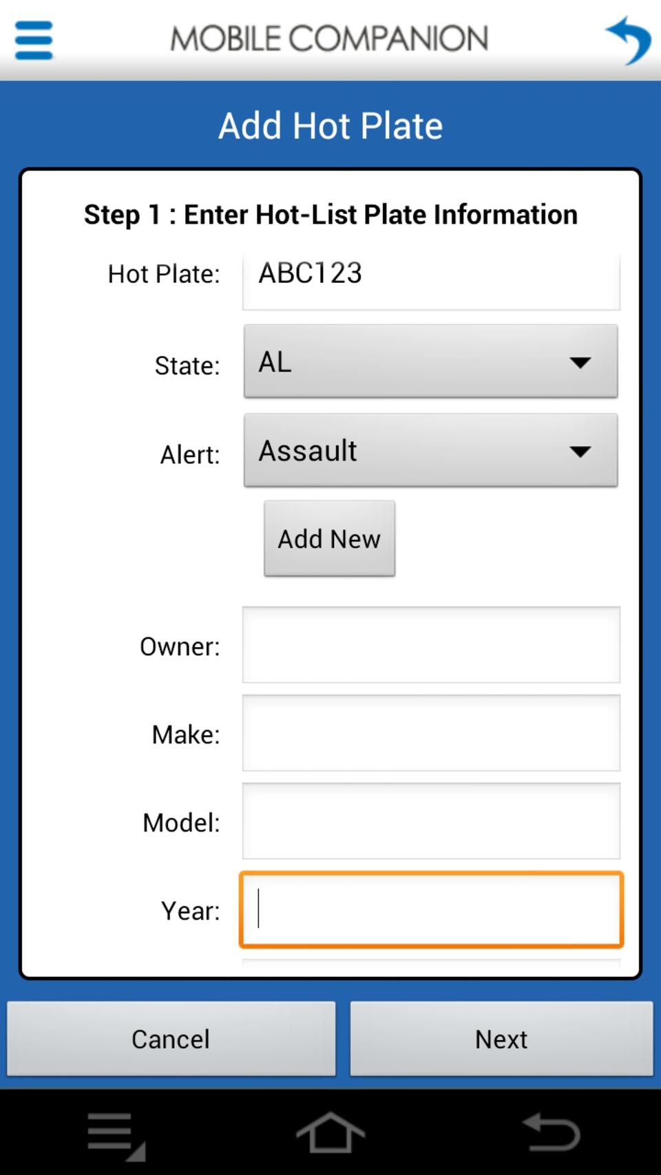 Vigilant Solutions Vigilant Mobile Companion App in LPR (License ...
