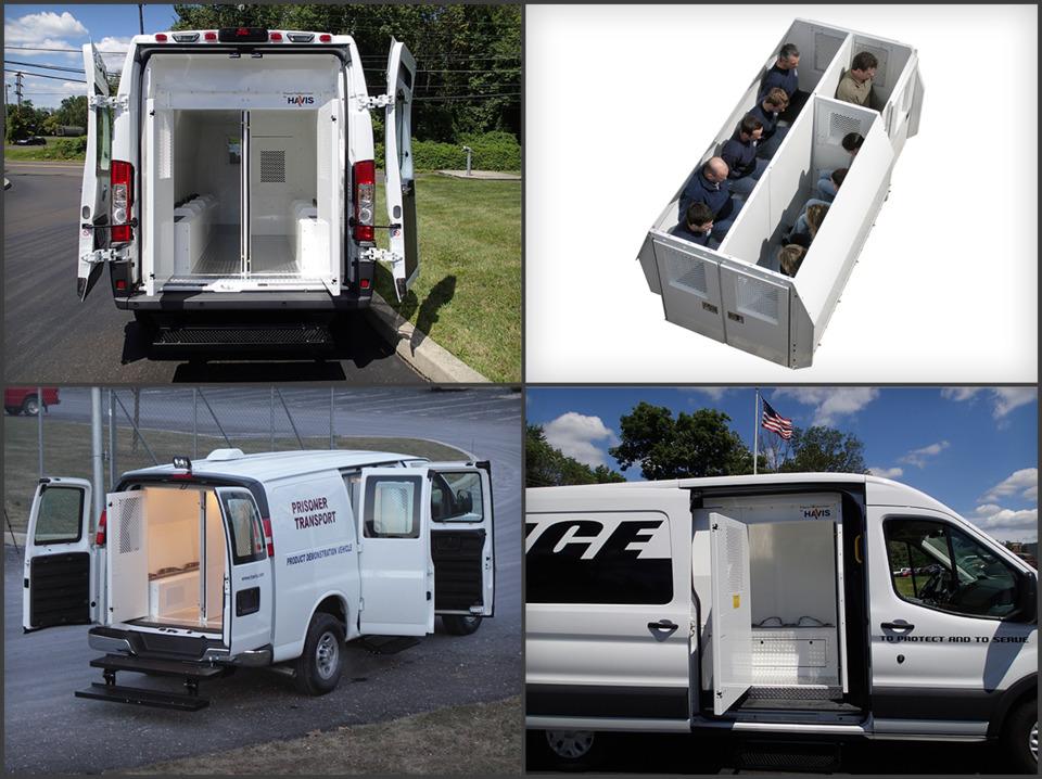 Havis Inc Prisoner Transport System Inserts And