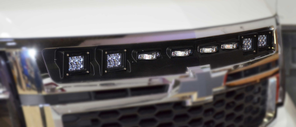Rockland Custom Products Tactical Division Illumi Grille