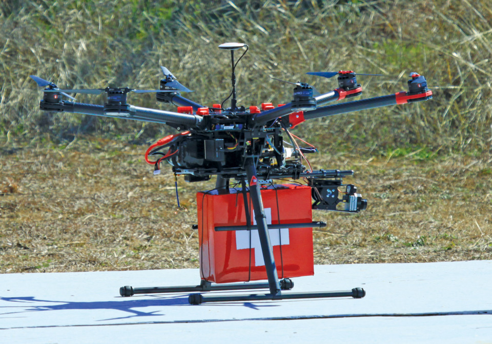 Uav Direct Tactical Search Amp Rescue Drone System In