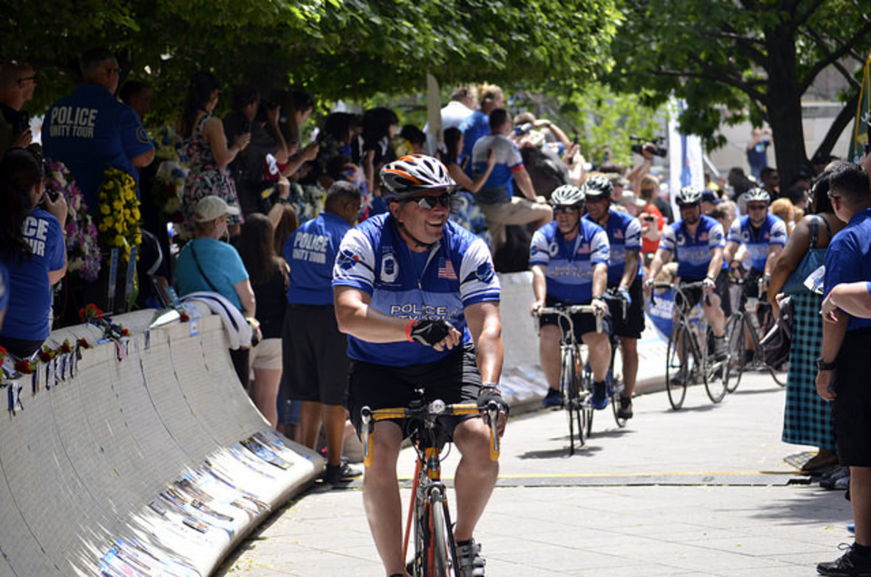 View images from the 2015 police unity tour for Police tours