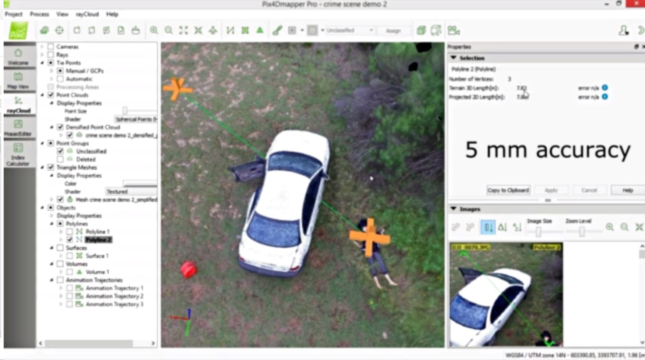 UAV Direct PIX4D - 3D Mapping Software for Drones in Mapping & Tracking