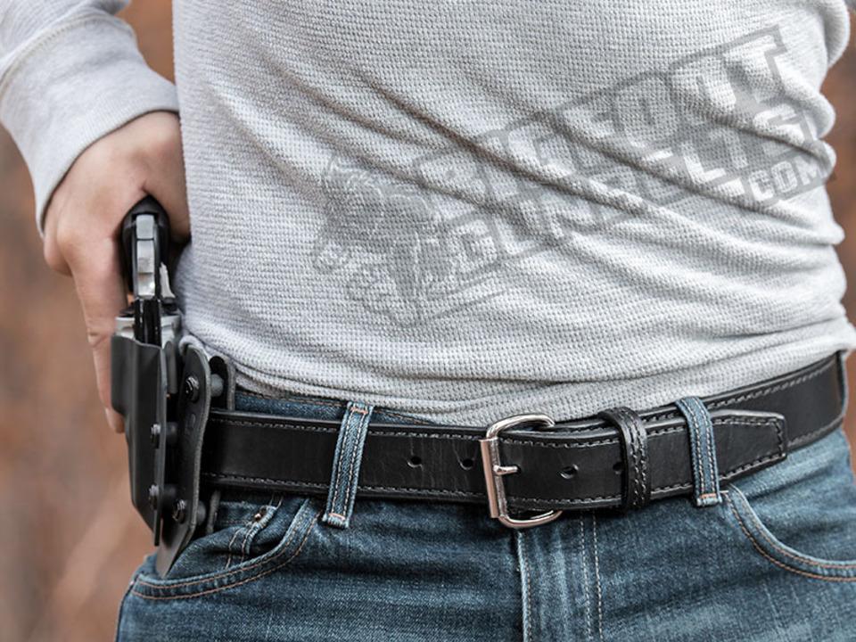 Bigfoot Gun Belts Introduces Steel Core Leather Belt Series