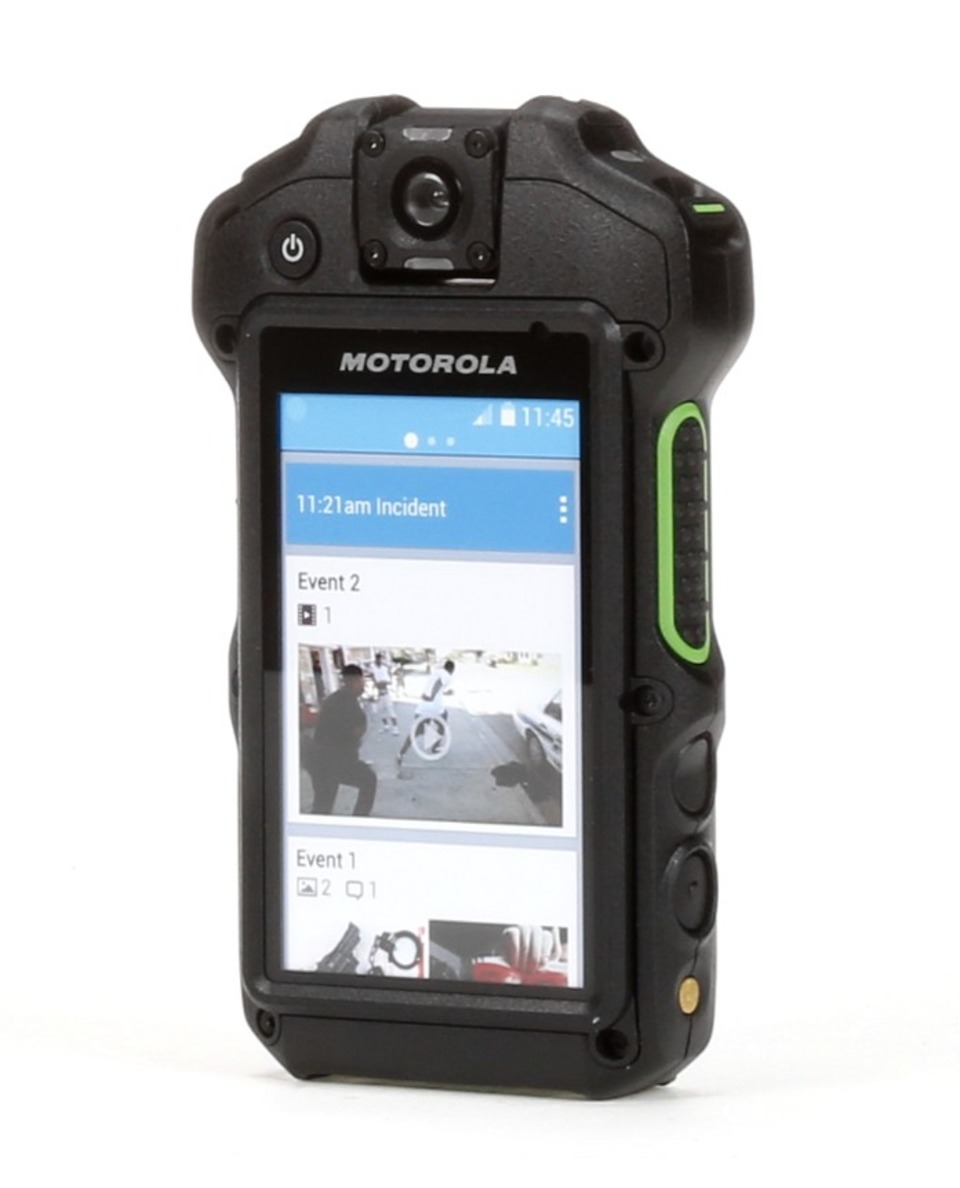 Motorola Solutions Inc Si500 Vsm Body Worn Camera Radio
