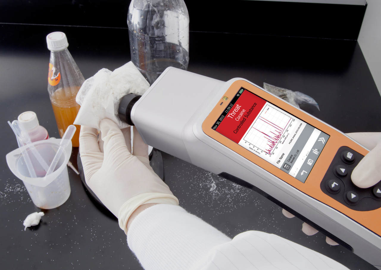 Drug Detection Goes Handheld For Confident Detection In The Field