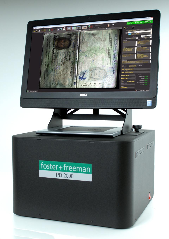 Foster + Freeman USA Inc  PD2000/FP Passport Scanner - Ultra