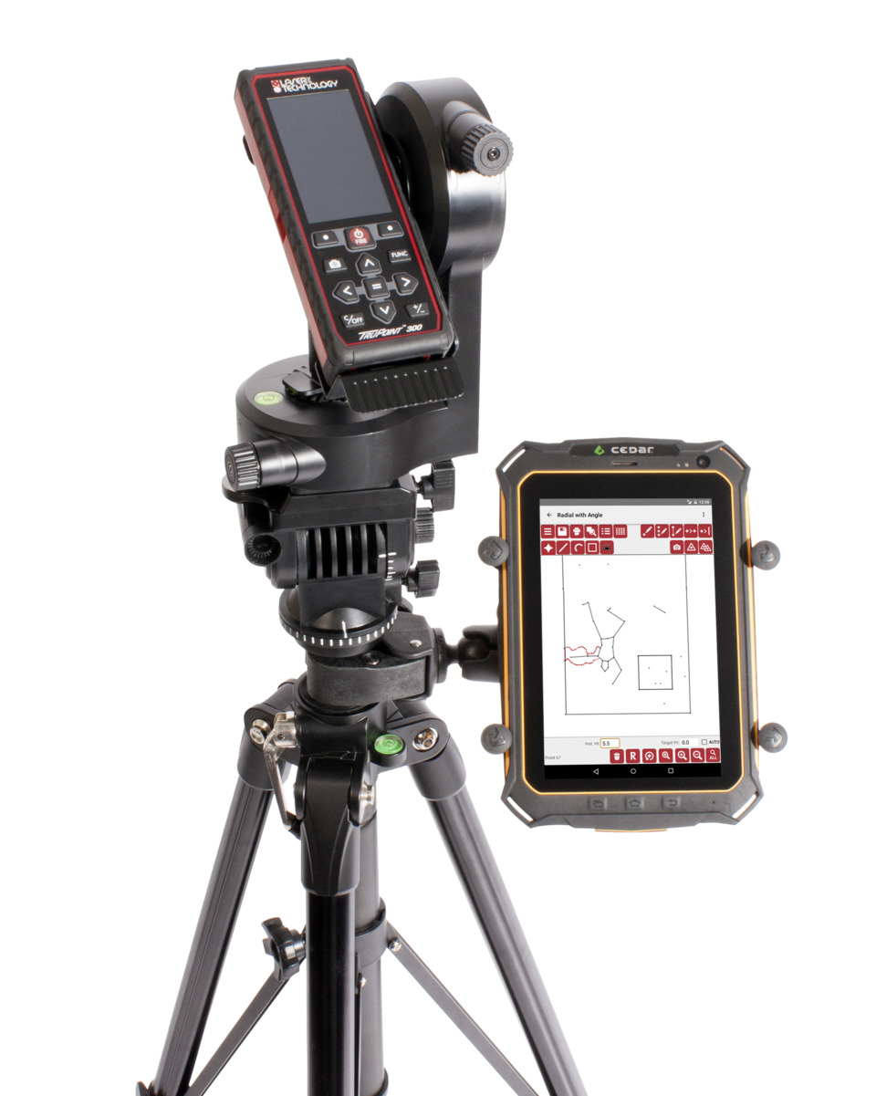 Laser Technology Inc Trupoint 300 In Measuring Equipment