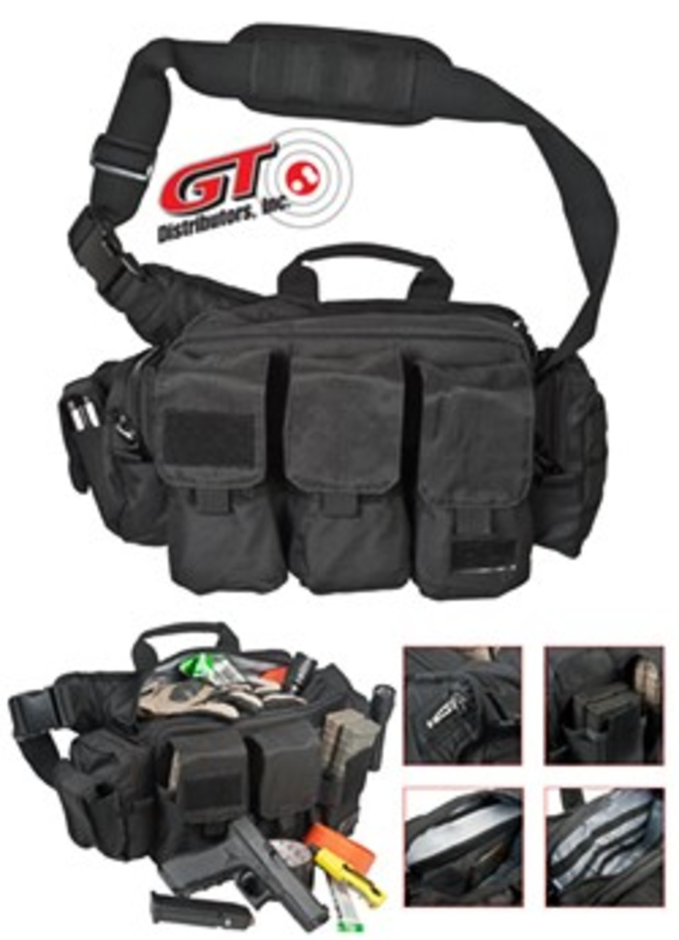 Through Gt Distributors The Rugged Active Shooter Bail Out Bag By 5 11 Tactical Features Tough 1000 D Nylon Body Fabric Construction That Delivers Extreme