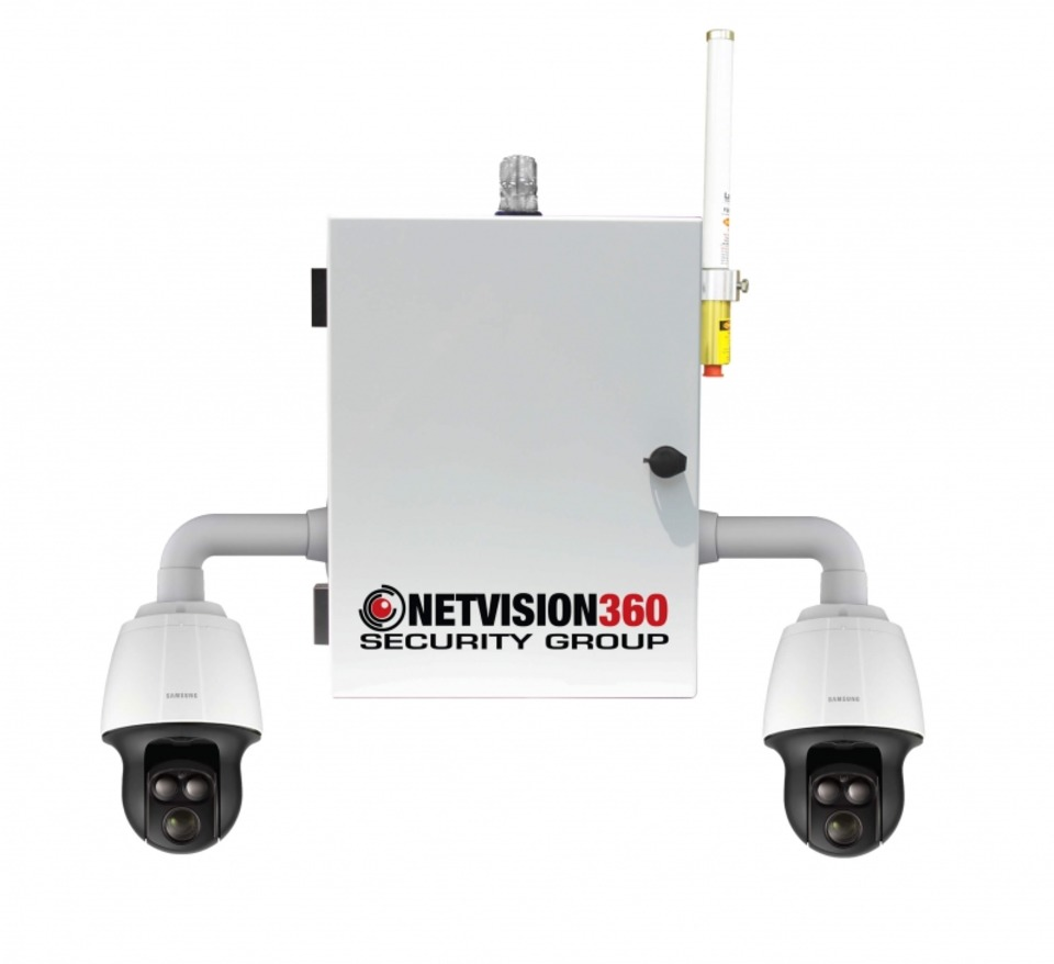 Light Pole Definition: Netvision 360 Security Group Dual Infrared PTZ Pole Mount
