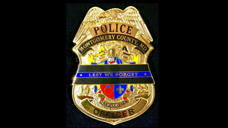 Badges Honor Fallen Maryland Police Officers