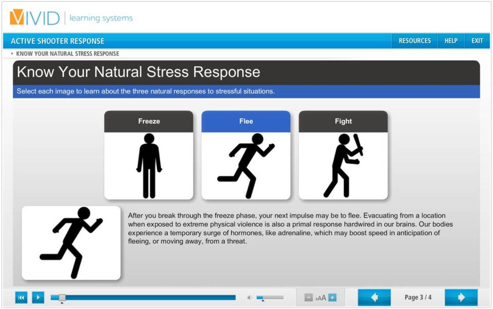 Vivid Learning Systems Active Shooter Training Free Online ...