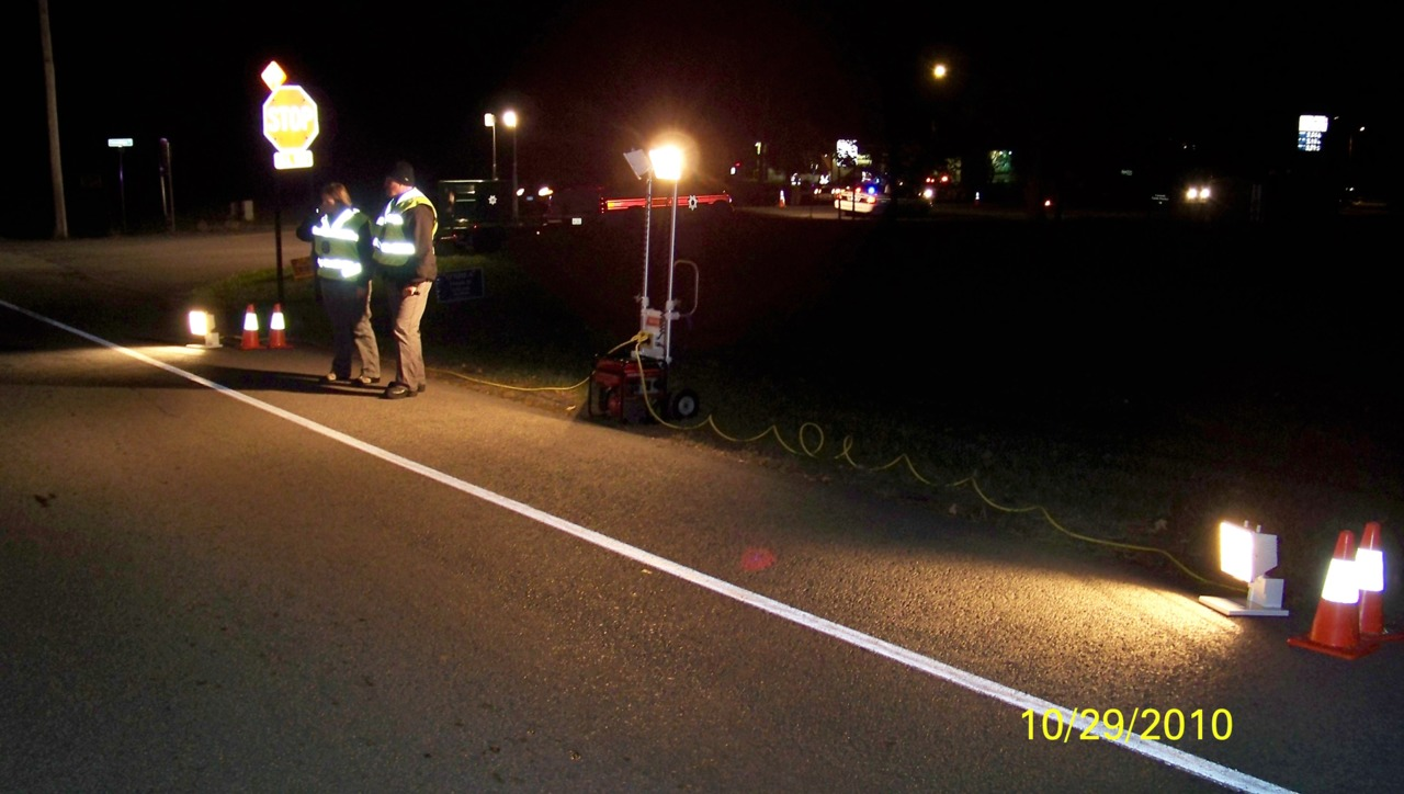 Making DUI checkpoints safe and effective