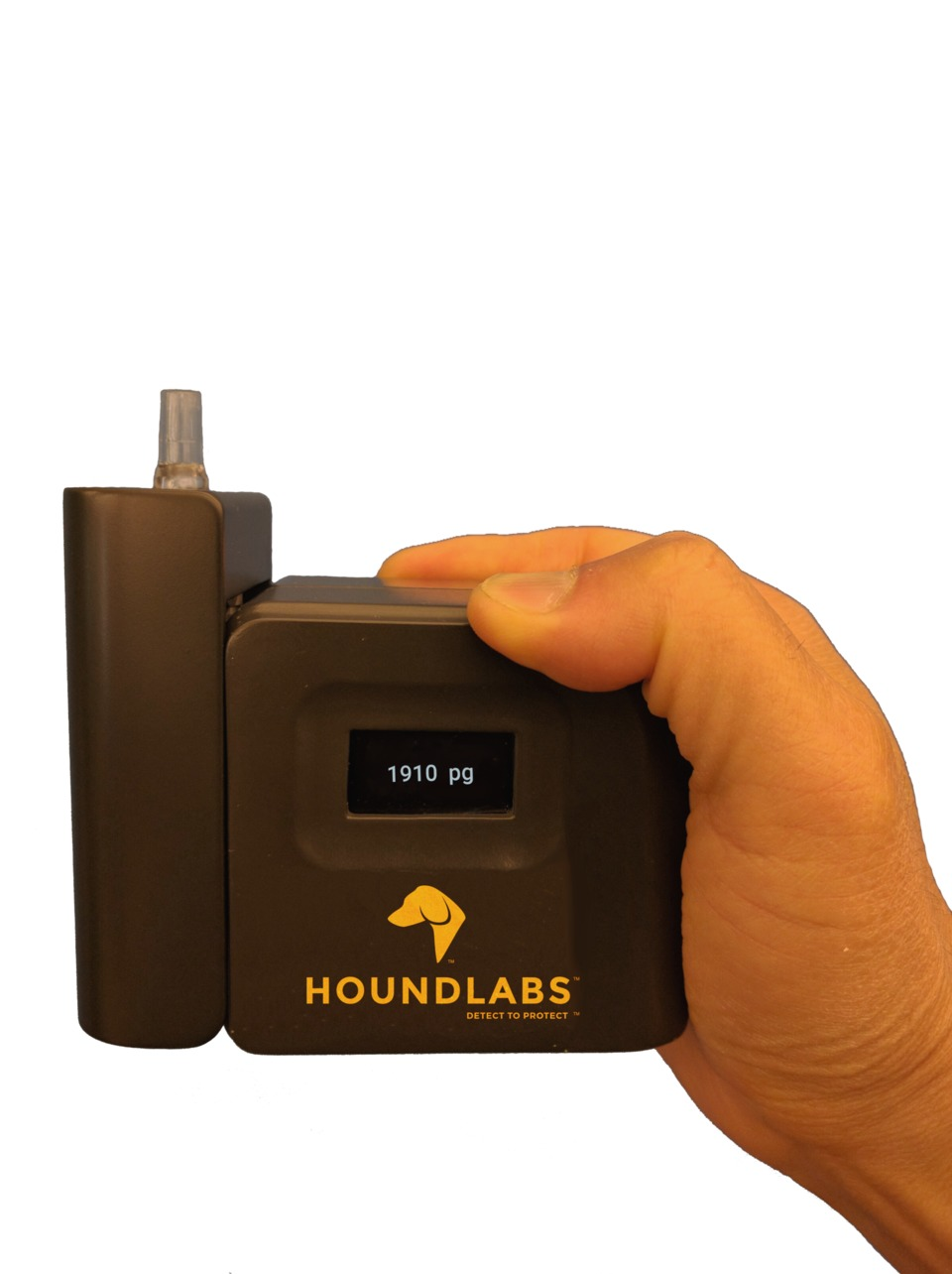 Portable Breathalyzer Test >> Hound Labs The Hound Marijuana Breathalyzer Roadside Test Device - Detects both Smoked and ...
