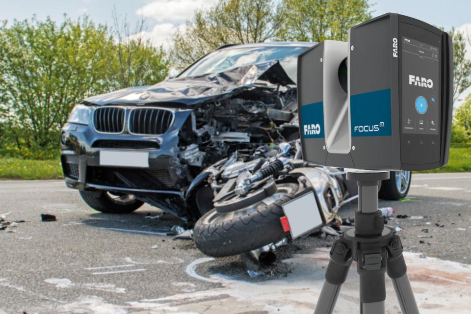 FARO Technologies Inc. 3D Scene Scan Measurement FARO FocusM 70 ...