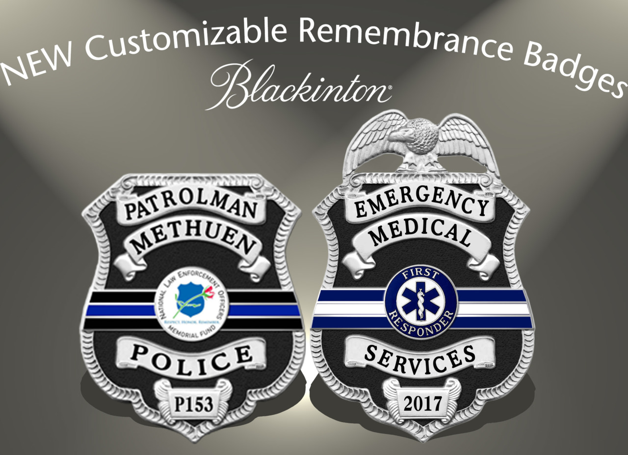 VH Blackinton and Co  Inc  Custom badges for law enforcement, police