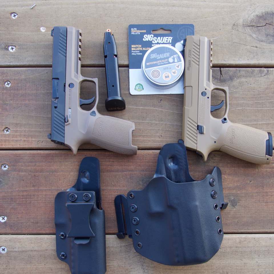 A Review of Sig's P320 Handgun and Air Pistol Counterpart