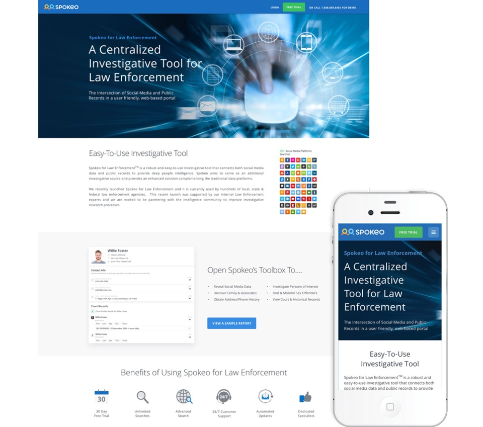 Spokeo Investigations Software, People Search | White Pages | Find