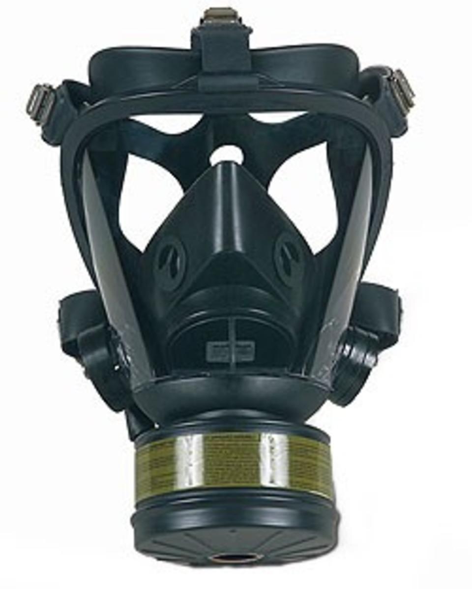 Gas mask tubes