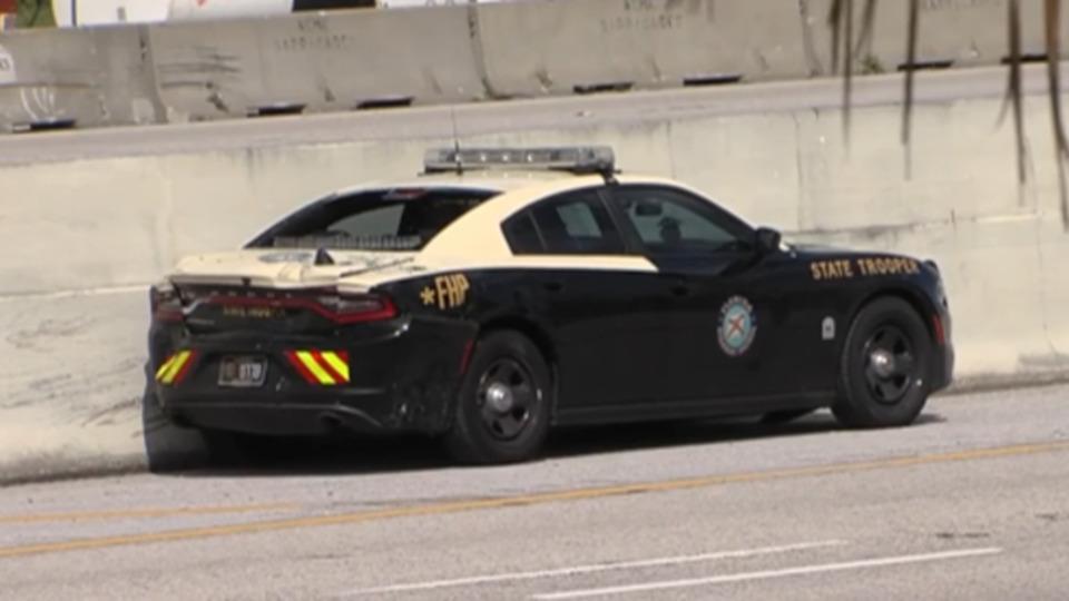 florida highway patrol trooper seriously injured after